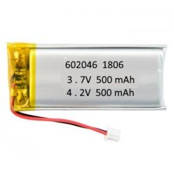 Batería 500 mAh