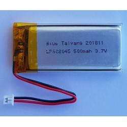 FT602045P 3.7v - 500mAh