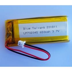 FT702045P 3.7v - 650mAh