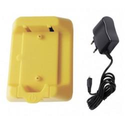 Cargador minibeeper amarillo