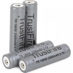 Batería de litio 2400 mAh - 18650 - gris